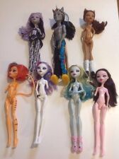 Monster High Dolls Lot Custom Ooak Nude Parts Some Complete Toralei Neighthan