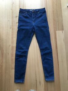 ASOS High Waist Skinny Tall Jeans size 12