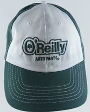 O'Reilly Auto Parts Strapback Adjustable Cap Hat Green White Clover 100% Cotton