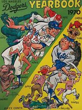 1970 Los Angeles Dodgers Official 1970 MLB Yearbook Program Sutton-Russell-Mota