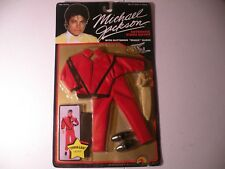 MICHAEL JACKSON DOLL AUTHENTIC STAGE OUTFIT FROM THRILLER With magic glove