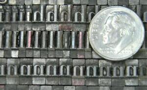 Vintage Alphabets Letterpress Printing Type  24pt Bodoni   MN61  10#