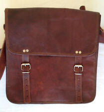 MEN'S GENUINE LEATHER SATCHEL