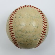 Roberto Clemente Twice Autographed 1970 Pirates Official NL Baseball - JSA