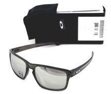 2d4411e8c2 POLARIZED Genuine OAKLEY SILVER Grey Smoke Chrome Iridium Sunglasses OO  9262-13