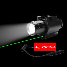 New Arrival Green Laser Sight Scope CREE Q5 Flashlight Led Combo Picatinny Mount