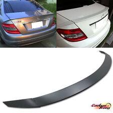 Item In LA Mercedes BENZ C300 C250 W204 B Type Trunk Spoiler Wing ABS Unpaint