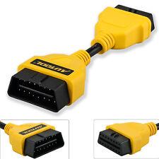 14CM/5.5 inch OBDII OBD2 16 Pin Male to Female Car Diagnostic Extension Cable