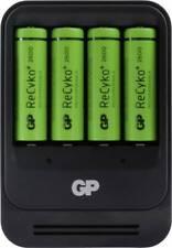 GP Batteries PowerBank Chargeur De Piles Intelligent Pour Batterie NiMH AA/AAA