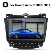 10.1 Inch Android Car Stereo Radio Gps Nav Player Mp5 For Honda Accord 2003-2007