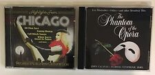 LOT 2 CDS~HIGHLIGHTS FROM CHICAGO~PHANTOM OF THE OPERA & OTHER BROADWAY HITS