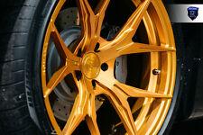 20x9 20x11 +28 Rohana RFX5 5x114 GLOSS GOLD WHEEL Fit Maserati gran turismo 2014