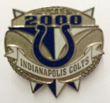 INDIANAPOLIS COLTS  NFL FOOTBALL year 2000 HAT OR LAPEL PIN by PETER DAVID