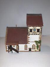 N Scale Train Railroad Church Building