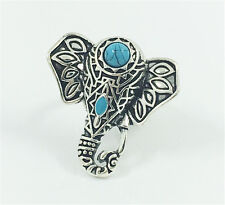 Vintage Woman 316L Stainless Steel Vogue Design Mini Elephant Ring Size 8 NEW