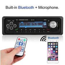 Car Stero FM retro radio 12V Player Bluetooth Stereo MP3 USB WAV FM Universal