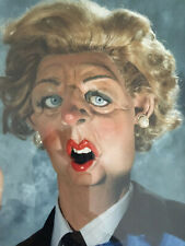 More details for orignal spitting image margerat thatcher from central tv studio hallway broadst