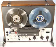 Tonbandmaschine UHER ROYAL DE LUXE CON 4 CABEZALES -Nº Serie 2944- 47609
