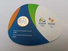 1 Real Olympic Judo 2015 Rare Excellent CONDITION Coins Brazil