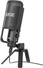 Rode NT-USB Studio Mikrofon Kondensatormikrofon mit USB Kabel Stativ Popschutz