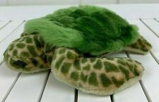 "Baby Sea Turtle Plush Toy Stuffed Animal 9"" Spotted Green"