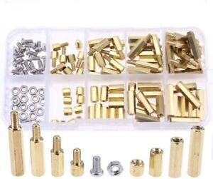 M3 Male Female Hex Brass Spacer Standoff Screw Nut Kit For PCB FPV Board 180 Pcs