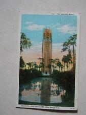 Vintage Florida Postcard Mountain Lake Sanctuary Lake Wales, FL