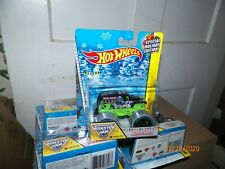 2014 HOTWHEELS MONSTER JAM HOLIDAY EDITION ( GRAVE DIGGER TRACK ACE TIRES )