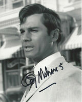 GEORGE MAHARIS HAND SIGNED AUTHENTIC 'ROUTE 66' 8x10 SHOW PHOTO D w/COA ACTOR
