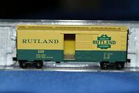N Scale MTL Micro 40' Standard Box Car Rutland 20146