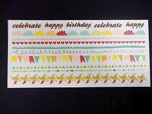 Kaisercraft Rub-ons  ~ SAVE THE DATE ~ Celebration - Birthday - Occasions