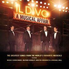 Il Divo - A Musical Affair (CD+DVD 2013) NEW & SEALED