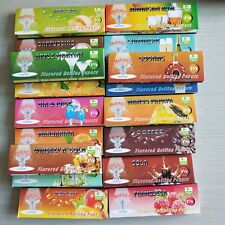 15Pack 78mm Fruit Flavored Cigarette Rolling Papers Variety Cocktail Wine Drink