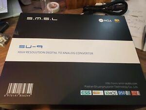 SMSL SU9 MQA Full Decoder ES9038PRO DAC DSD512 Bluetooth 5.0 Balanced Decoder