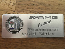 Mercedes AMG Badge Emblème Logo Inscription B E C SL CLS S CL A CLA G Autocollant