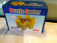 NEW  6 SECTION PUZZLE SORTER