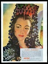 1943 Gl 00006000 adys Swarthout color portrait Rca Victor Red Seal Record vintage print ad