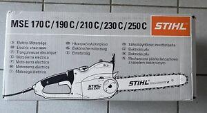 Stihl MSE 190 C-BQ, PM3, Schnittlänge 35cm, Neu + unbenutzt in OVP