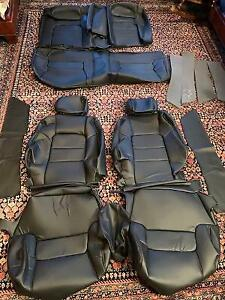 ACURA LEGEND COUPE 1991-1995 BLACK ALL VINYL REPLACEMENT SEAT KIT