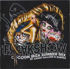 André Galluzzi & Raresh in the Mix - Freakshow: Cocoon Ibiza Summer Mix - 2 CD
