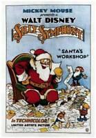 OLD MOVIE PHOTO Santas Workshop Poster Part Of Walt Disneys Silly Symphony Serie