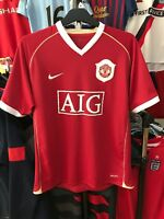 Men's Manchester United home football shirt size L Nike 2006-2007