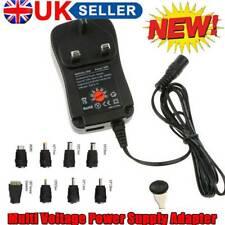 Universal Mains AC/DC Power Adapter USB 3V 4.5V 5V 6V 7.5V 9V 12V Supply Tips UK