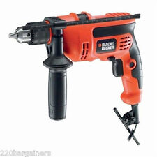 Black And Decker NEW CD714REK Hammer Drill - 220 Volts (FOR OVERSEAS ONLY)
