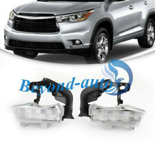 For Toyota Highlander 2014-2017 DRL Daytime Running Fog Light Lamp