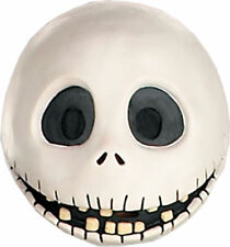 Jack Skellington Full Vinyl Mask Halloween Nightmare Before Christmas Disguise