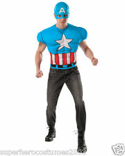 Captain America Adult Classic Muscle Costume Marvel Comics Rubies 820020 NEW