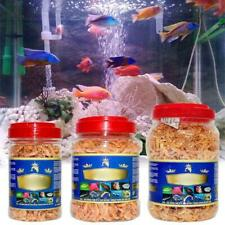 Aquarium Tropical Fish Foods Freeze Dried Shrimp Healthy Cichlid Turtle Feeding