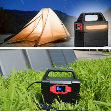 150Wh Portable Solar Generator Power Battery Charged by Solar/AC Outlet/Cars