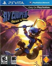 NEW Sly Cooper: Thieves in Time  (Sony Playstation Vita PSVita, 2012) NTSC